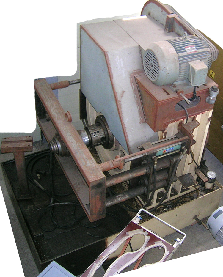 second swaging machine